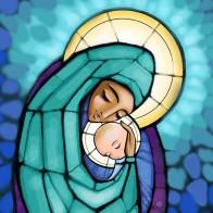 Maria, toda de Deus e tão humana
