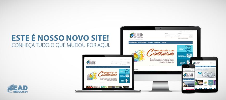 Novo site EAD Século 21