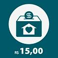 Doe R$ 15,00